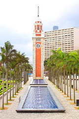 Hong Kong Clock Tower in Hong Kong, China