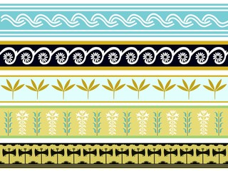 A set of ancient Minoan pattern designs 2