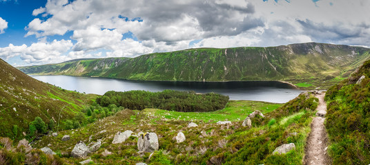 Panorama Loch Muick, Cairngorms National Park, Scotland