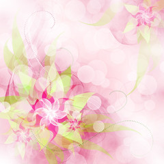 Best Romantic Flower Background