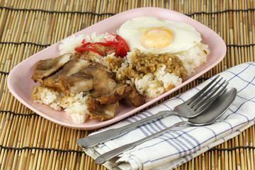 Grill Pork with rice