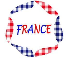 France -  Cuisine française - Hexagone