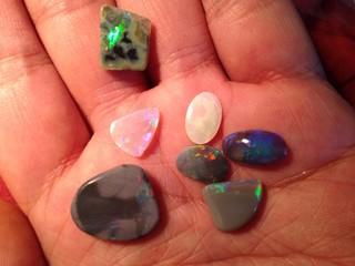 black opal lapidary
