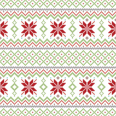 Abstract Christmas pattern, background, vector