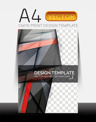 Vector Modern Flyer Design