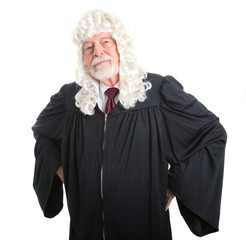 Stern British Judge