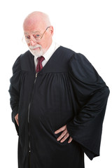 Serious Judge