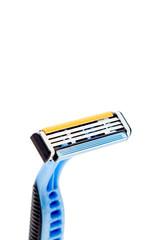 Shaving razor isolated on a white background