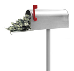 Money in Mailbox