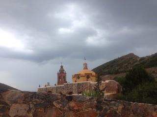 paisaje de iglesia