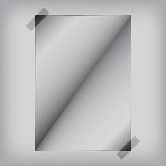 Open paper, vector illustration