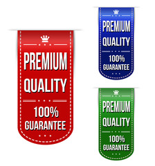 Premium quality banner design set