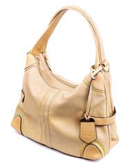 beige women's purse