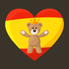 Spanish Royal Teddy Bear