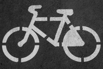 Sign of cycle track