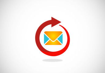 email-message-reply-vector-logo