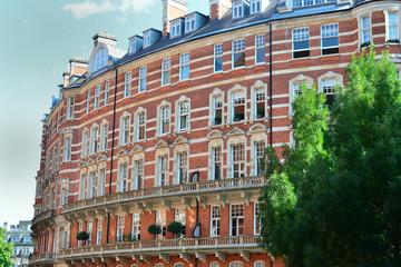 Curved brick luxury apartments kensington