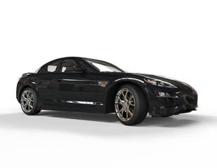 Sports car black