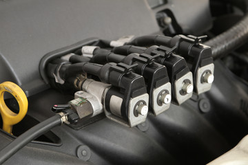 CNG NGV gas injector for alternative fuel