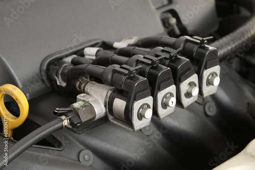 CNG NGV gas injector for alternative fuel - 68004719