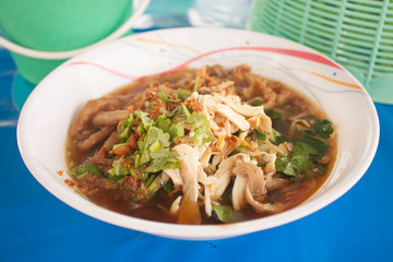 Noodle Food in Thailand