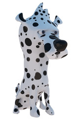 Dalmatian 3D Dog