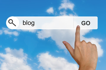 blog on search toolbar