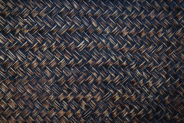 background image of bamboo or wicker basket weave