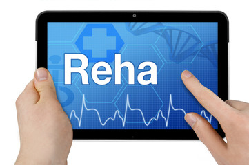 Tablet mit Interface und REHA
