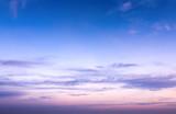 Fototapety sky in sunrise