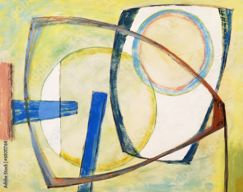 an abstract painting © clivewa