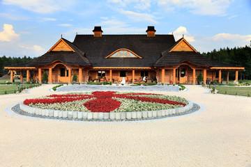 Hotel, restauracja, architektura.