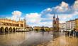 Leinwandbild Motiv Krakow - Poland's historic center, a city with ancient