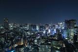 Fototapety Tokyo cityscape at night