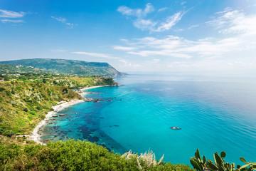 Coastline at Capo Vaticano, Calabria, Italy