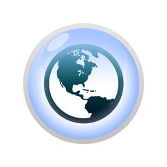 Icone bulle d'eau : internet