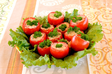 Tomatoes stuffed