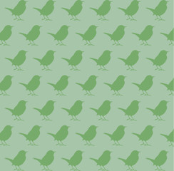 Bird silhouette pattern