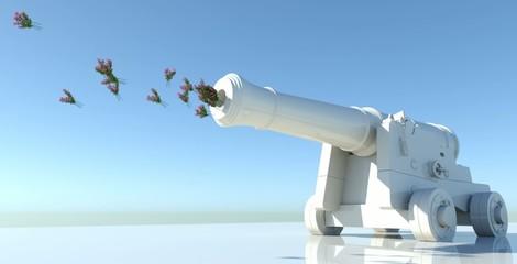 Cannone spara fiori 2