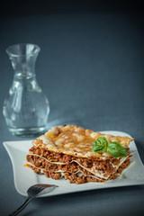 Delicious Italian lasagne