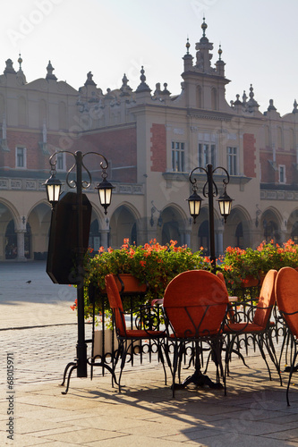 Town market cafe in Cracow - 68015971