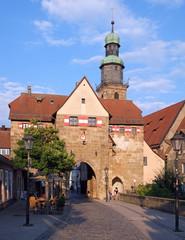 Nürnberger Tor in Lauf a.d. Pegnitz