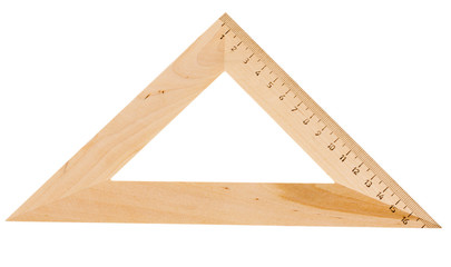 Triangle wooden