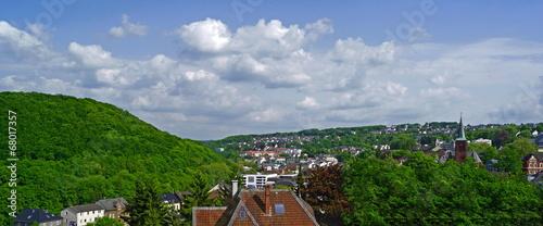 canvas print picture ENEEPETAL ( bei Hagen ) - Stadtpanorama