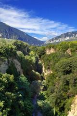 Pescara river gorge, Abruzzo, Italy