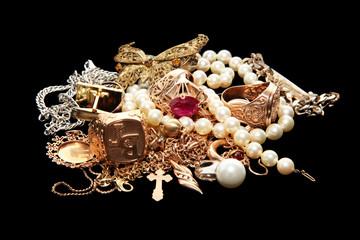 Gold und Juwelier Schmuck