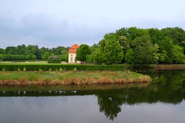 Moritzburg Schlossteich und Park