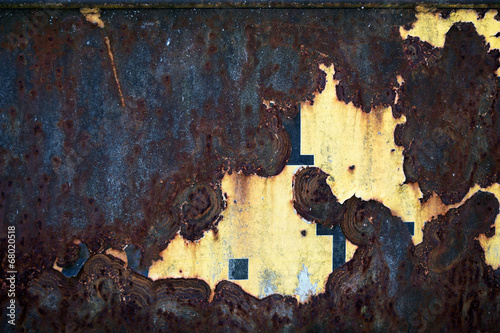 canvas print picture Metall abstrakt