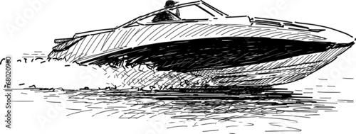 Speed boat - 68020980