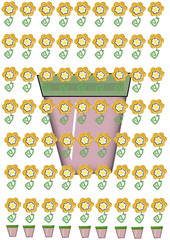 Plantar una flor